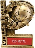 """Hasty Awards 6"""" Bust-Out Volleyball Resin Trophies"""