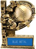 "Hasty Awards 6"" Bust-Out Softball Resin Trophies"