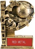 "Hasty Awards 6"" Bust-Out Soccer Resin Trophies"