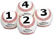 Diamond 1234 Visual Training Baseballs