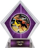 P.R. Female Basketball Purple Diamond Ice Trophy