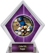 Awards PR2 Football Purple Diamond Ice Trophy