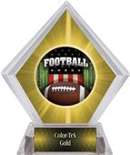 Awards Patriot Football Yellow Diamond Ice Trophy