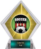 Awards Patriot Soccer Yellow Diamond Ice Trophy