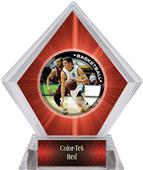 P.R. Male Basketball Red Diamond Ice Trophy