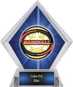 Awards Classic Baseball Blue Diamond Ice Trophy