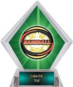 Awards Classic Baseball Green Diamond Ice Trophy