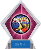 Awards Americana Cheer Pink Diamond Ice Trophy