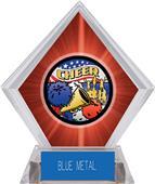Awards Americana Cheer Red Diamond Ice Trophy