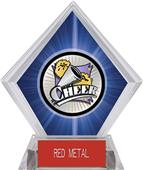 Hasty Award Xtreme Cheer Blue Diamond Ice Trophy