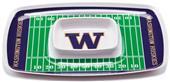 COLLEGE Washington Huskies Chip & Dip Tray Set 6