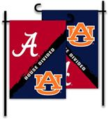 COLLEGIATE Alabama - Auburn House Divided Flag