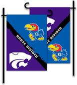 COLLEGIATE Kansas - Kansas St. House Divided Flag
