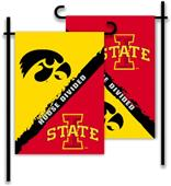 COLLEGIATE Iowa - Iowa State House Divided Flag
