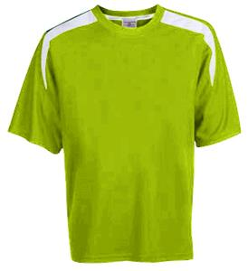 FLUORESCENT GREEN/WHITE