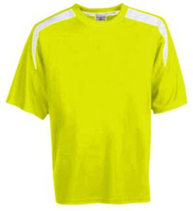 FLUORESCENT YELLOW/WHITE