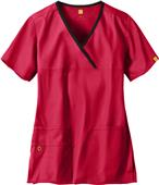 WonderWink The Charllie Lady Fit Y-Neck Scrub Top