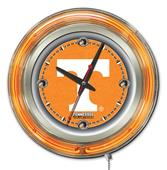 Holland University of Tennessee Neon Logo Clock