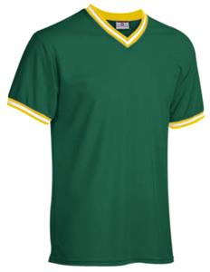 26-DARK GREEN/GOLD/WHITE