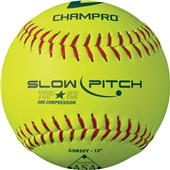 Champro Tournament .52 ASA Slow Pitch Softballs