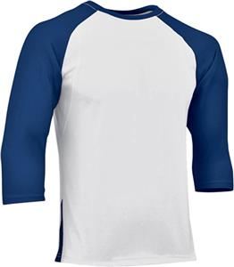 WHITE/NAVY SLEEVE
