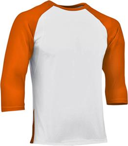 WHITE/ORANGE SLEEVE