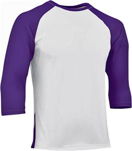 WHITE/PURPLE SLEEVE