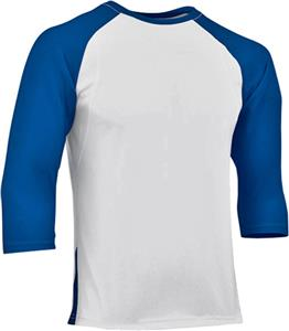 WHITE/ROYAL SLEEVE