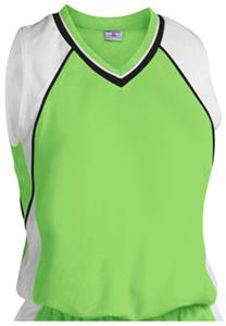 304-FLUORESCENT GREEN/WHITE/BLACK