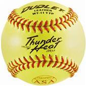 "Dudley Spalding 11"" ASA Thunder Heat Softballs"