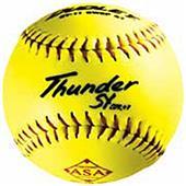 "Dudley Spalding 11"" ASA Thunder SY Softballs"