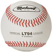 "Markwort Leather Cover 9"" Baseballs 1 DOZEN"