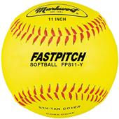 "Markwort 11"" Synthetic Fastpitch Softballs FPS11Y"
