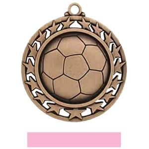 BRONZE MEDAL/PINK RIBBON