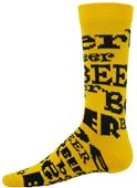 Red Lion Beer Crew Socks - Closeout
