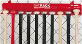 Markwort Aluminum Fence Bat Rack Holds 10 Bats
