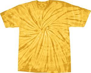 GOLD TIE DYE