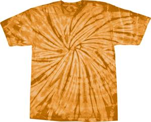 TEXAS ORANGE TIE DYE
