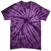 Dyenomite Cyclone Tie Dye Short Sleeve Tee Shirts