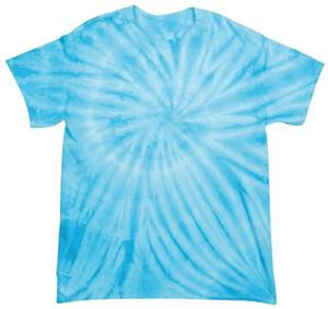 POWDER BLUE TIE DYE