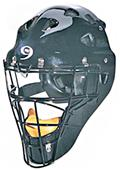 Pro Nine Baseball Umpires Black Hockey Style Mask