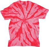 Dyenomite Neon Pinwheel Tie Dye Tee Shirts