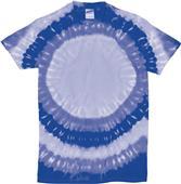 Dyenomite Bullseye Tie Dye Short Sleeve Tee Shirts