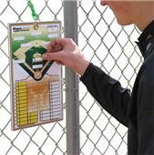 MagnaCoach Magnetic Lineup Baseball Board