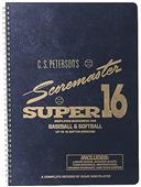 Super 16 Scoremaster Baseball/Softball Scorebook