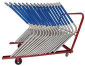 "Blazer Athletic ""L"" Hurdle Cart"