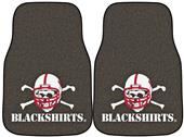 Fan Mats Nebraska BlackShirts Car Mats (set)