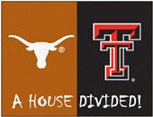 Fan Mats Texas/Texas Tech House Divided Mat