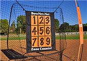 Bow Net Baseball Portable Zone Counter