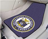 FanMats US Coast Guard Academy Seal Car Mats (set)